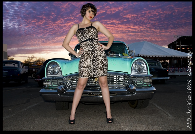 Female model photo shoot of Paige Toland by As You Wish in Rockabilly Fest 2009