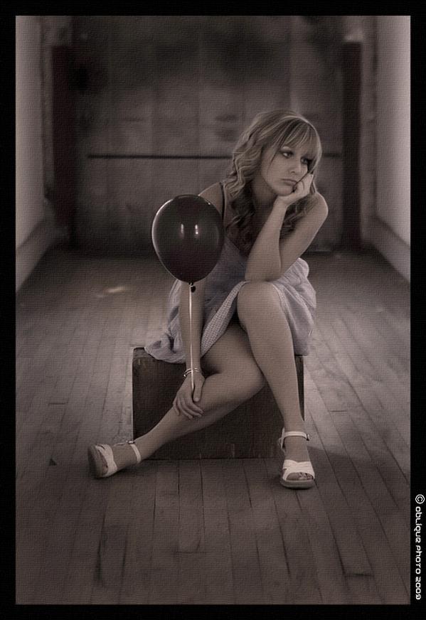 FNS Studios Mar 26, 2009 Oblique Photo Sad Balloon