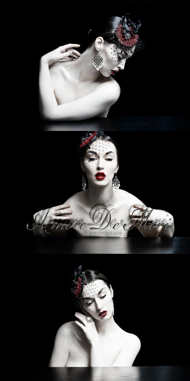 Mar 26, 2009 Model Koneko, shot by herself in Amore de Mori tarantula fascinator