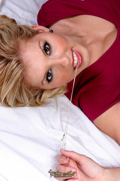 Female model photo shoot of Chris Sholl Photography in Studio- HB