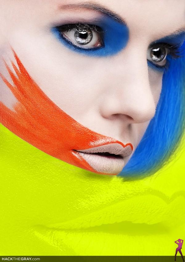 Mar 27, 2009 Make-Up : Me, Foto : HACKtheGRAY
