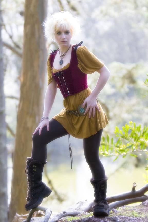 Female model photo shoot of Elle Jae Simone by Z Imaging in golden gate park