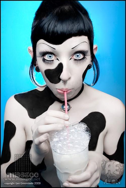 Female model photo shoot of Zephyr Elf by Gee Greenslade in University Studio
