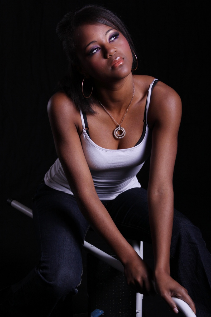 Female model photo shoot of Vanidosa Esthetics MUA and Tiara Patterson by 4 U Photography