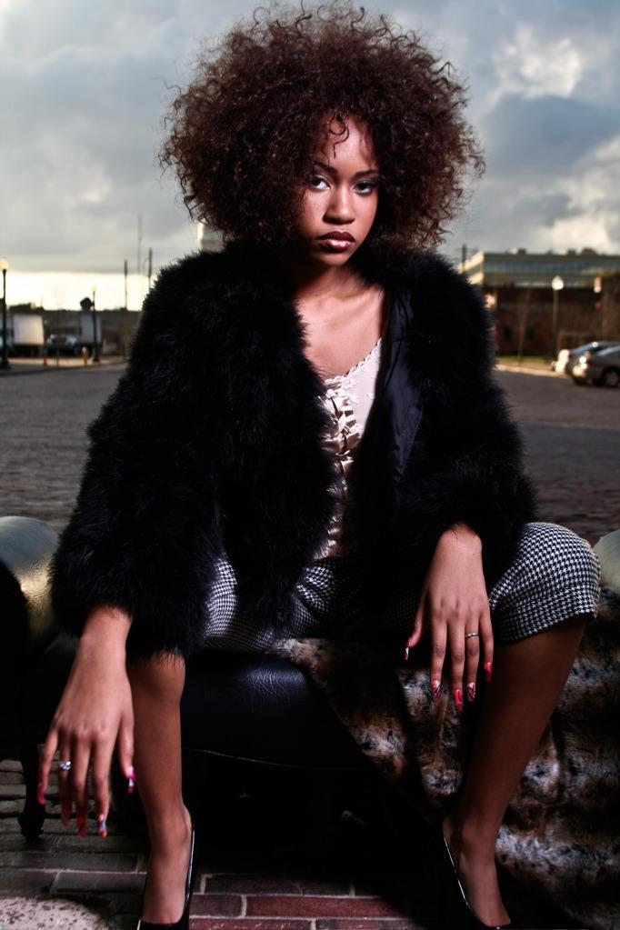 Female model photo shoot of LaDawn MUA in Albany, GA