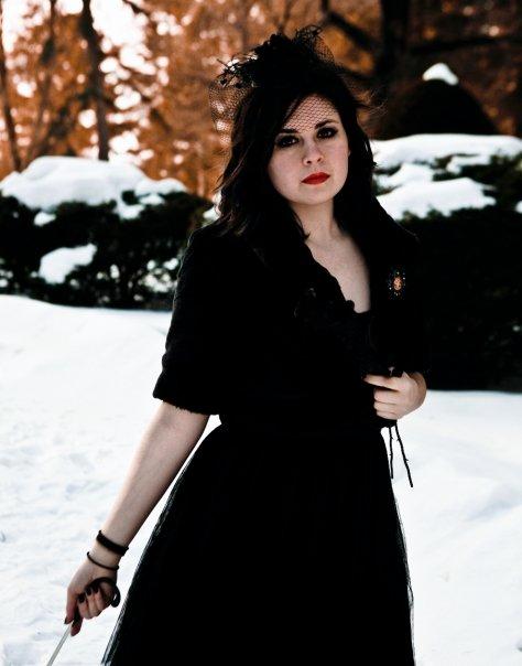 Female model photo shoot of Jess Madigan and Devan The Impaler in Northampton, MA