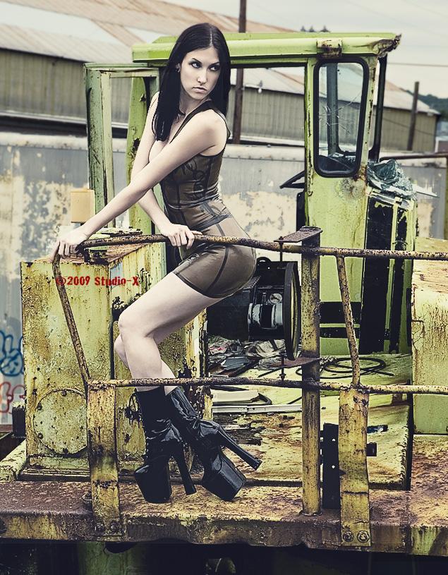 Mar 30, 2009 Studio-X 2008 Dessa Fell on Derelict Tractor