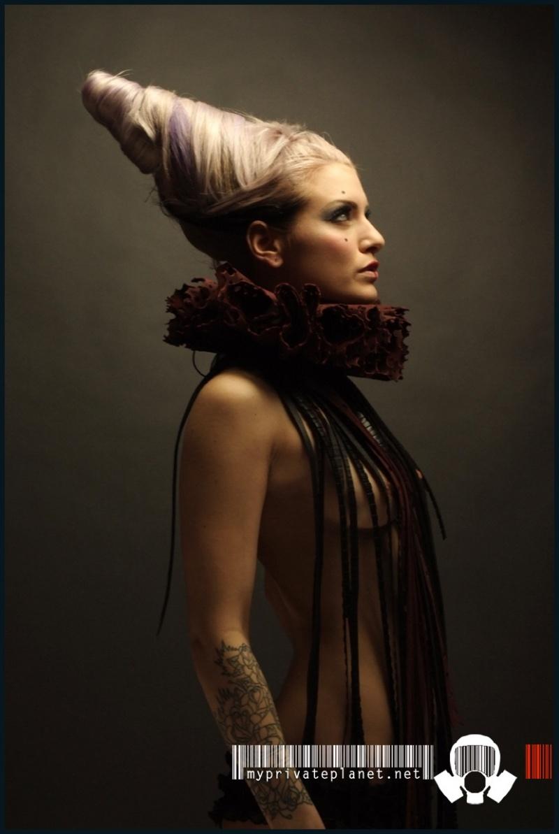 Mar 30, 2009 model: Jessica lablanche  / Hair : Crane conception /photo: Michael Andrews / MUA: Jessica Lablanche Circus of sin
