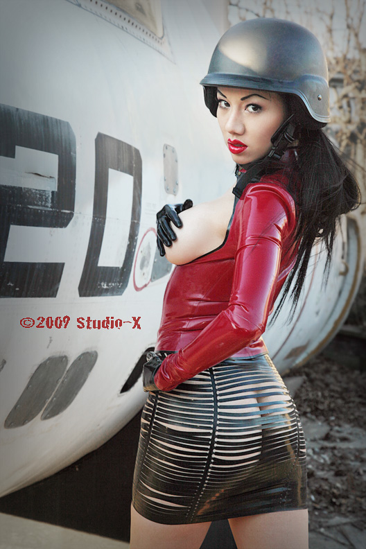 NY Mar 30, 2009 Studio-X 2009 Jade Vixen for Ego Assassin Latex. More Images from the set coming soon. Just a teaser for now...