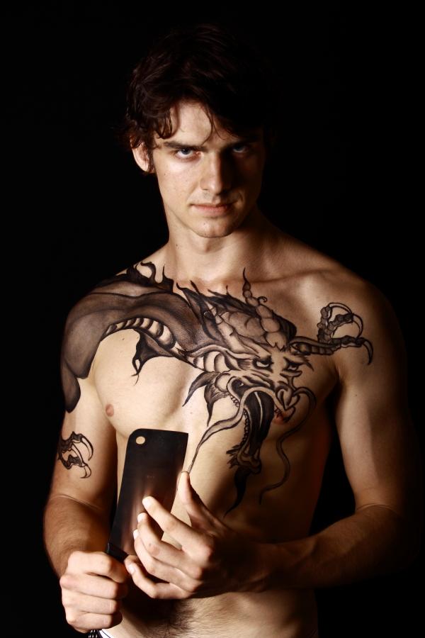 Mar 31, 2009 Mythical Ink & Sidetracked Designs Yakuza Dragon