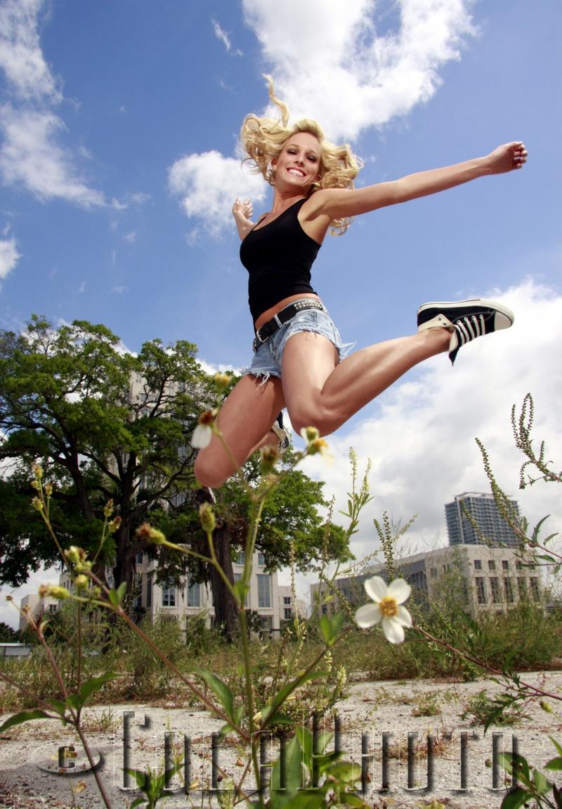 Orlando, FL Mar 31, 2009 ©ColaPhoto I Got Rhythm In My Feet and I Really Wanna Hop