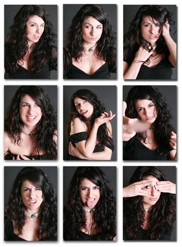 Apr 01, 2009 Dawn Elizabeth Making Faces: Self Portraits