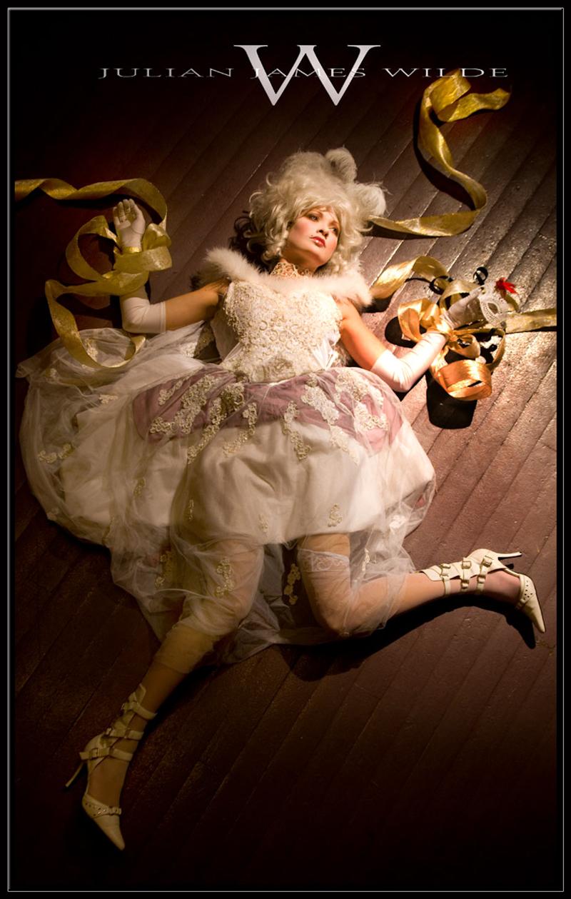 Female model photo shoot of sarah breece by Julian  W I L D E, wardrobe styled by Raven Wilde, makeup by Junis