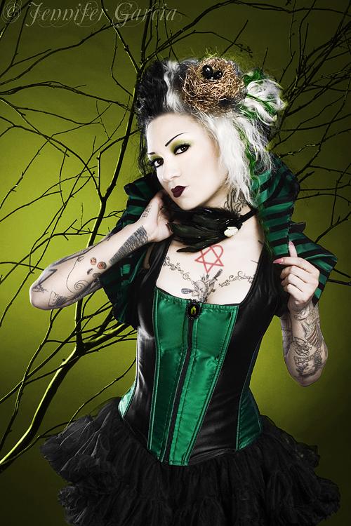 Taxidermy Accessories by: LovedtoDeath.net Apr 02, 2009 © Jennifer Garcia model/mua/hair: Miss Rockwell Devil