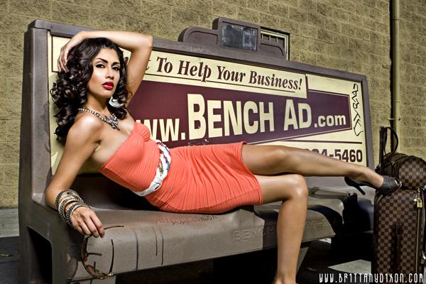 Female model photo shoot of CC Moten in Downtown