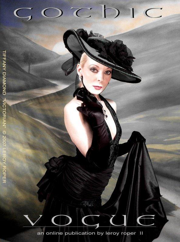 Dallas Texas Apr 03, 2009 Leroy Roper/Tiffany Diamond www.myspace.com/gothicvogue...and online publication by Leroy Roper