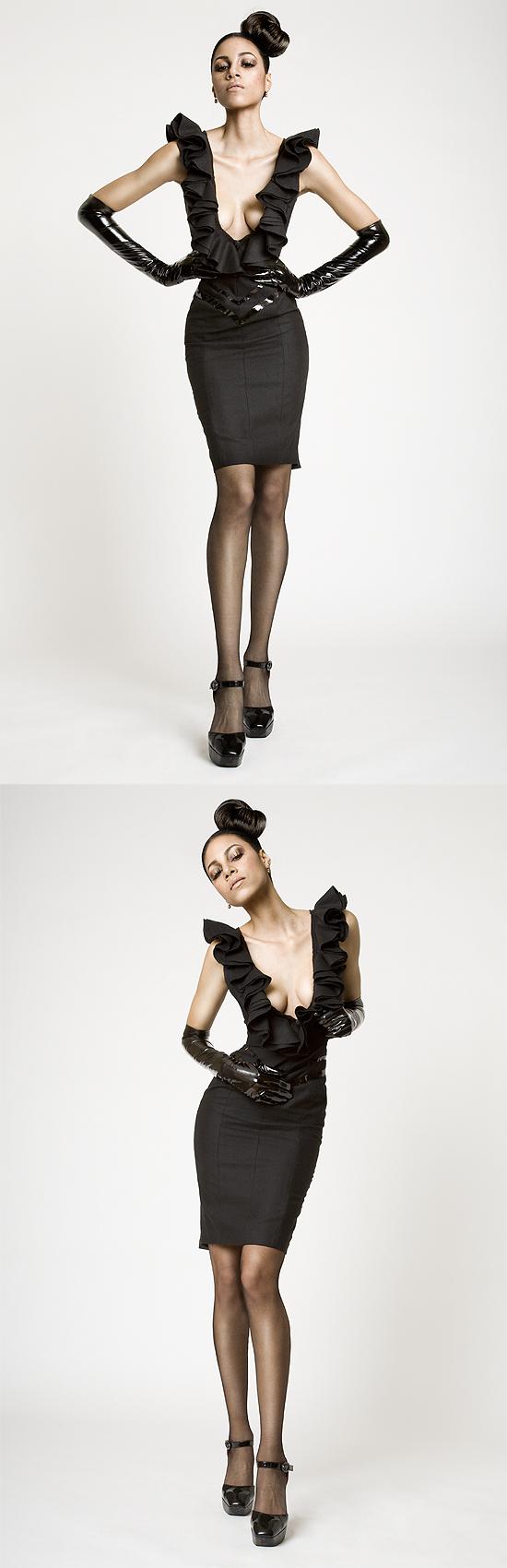 NYC Apr 03, 2009 Megyn Barroner model:  Natalie, Makeup: Kenecia Lashae