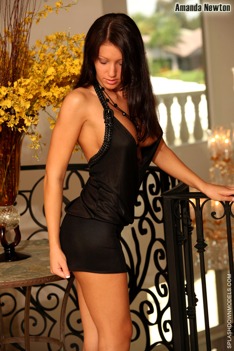 Davie Apr 03, 2009 Derrick Doty Black Dress