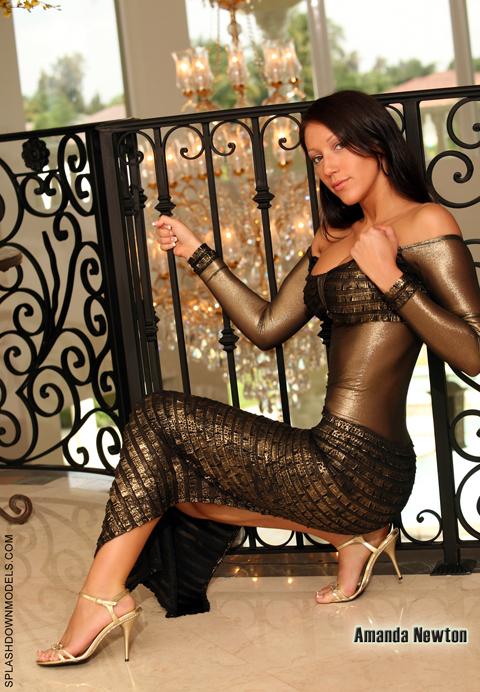 Davie Apr 03, 2009 Derrick Gold Dress