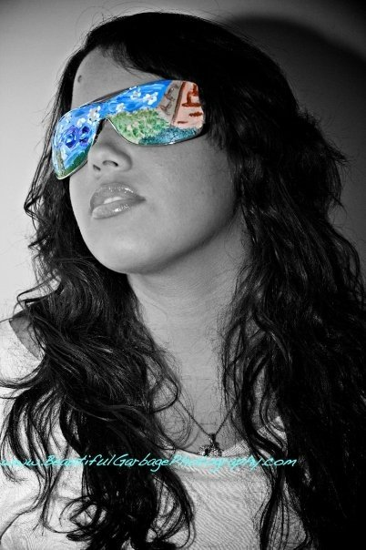 Female model photo shoot of Maylin G Elektra by Beautiful Garbage Photo