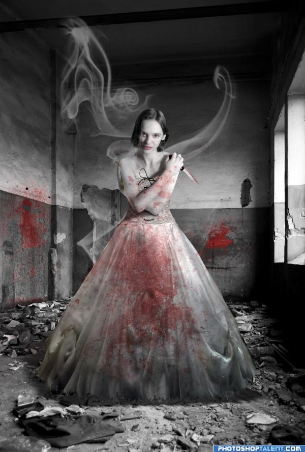 Apr 03, 2009 Photo I created for a Ghost/Gore Contest, Proud to say I won! :)