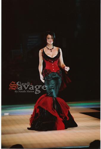 Apr 05, 2009 Claudia Savage (Natalie Hutton) Australian Masters of Fashion Awards