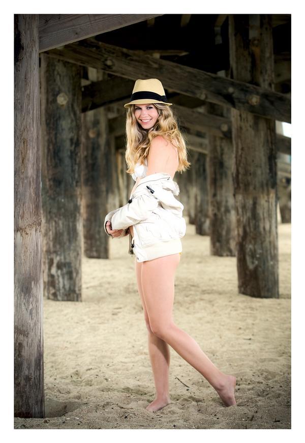 Female model photo shoot of Eryn Thomson in seal beach