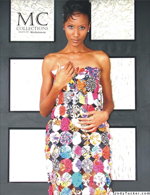 Atlanta, GA Apr 05, 2009 YoYo Couture dress by MC Collections