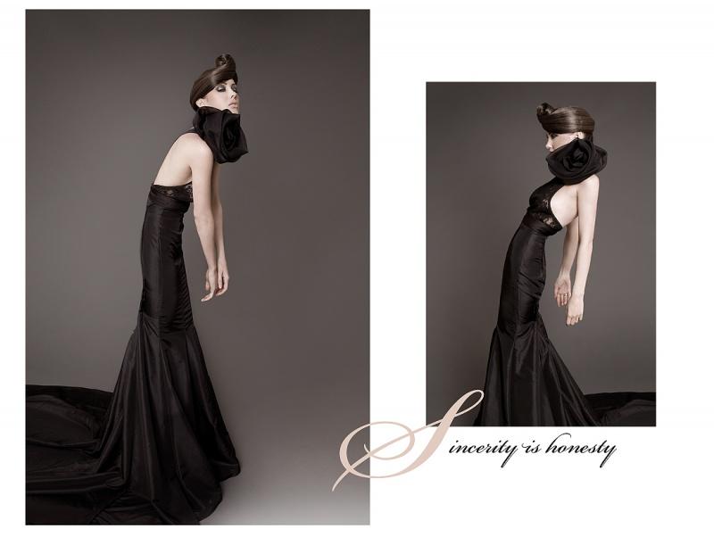 Apr 07, 2009 BrianWalshImages Designer Sandra Hagen Model-Kelly Ann, Hair-Katie Malone,Make up- Stephanie Calderon