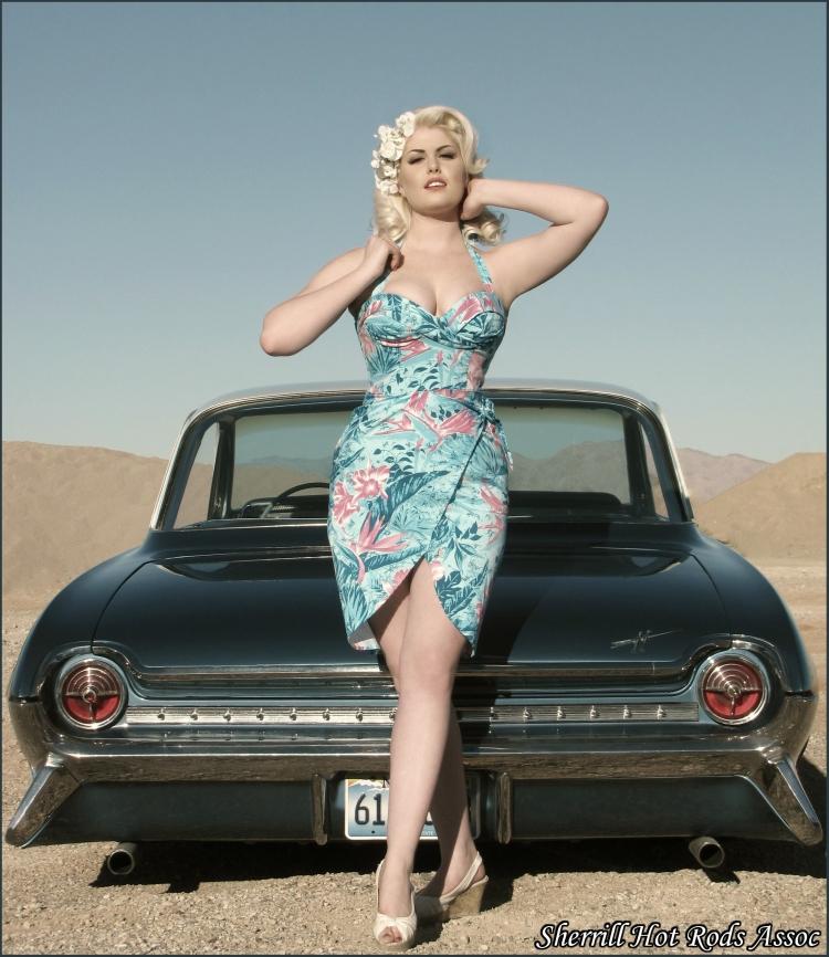 Las Vegas, NV Apr 07, 2009 Sherrill Hot Rods Assoc - Trent Sherrill Doris MayDay + Tonys 61 Oldsmobile