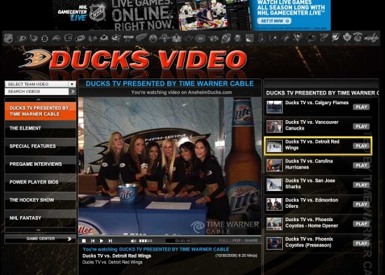 Apr 07, 2009 Ducks TV- Miller Girls