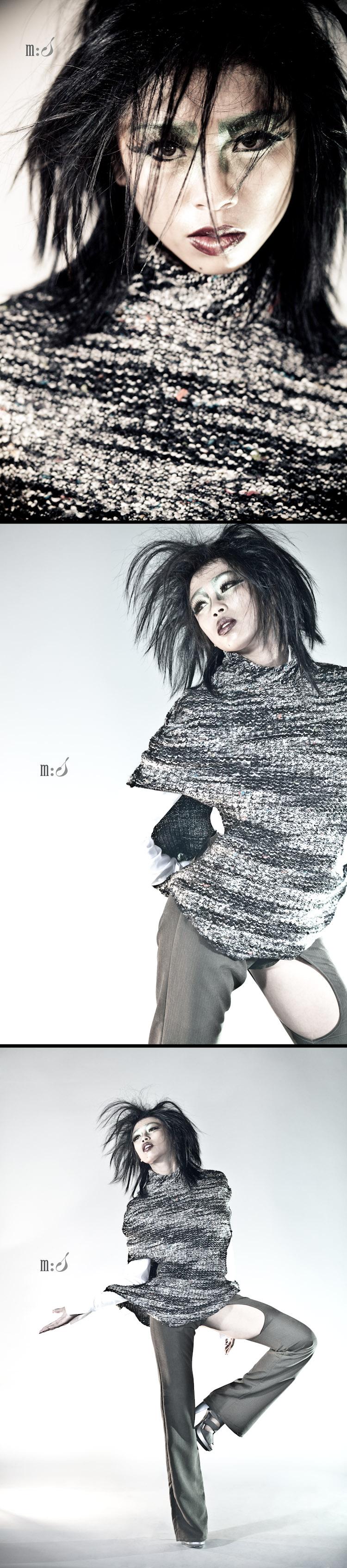 Female model photo shoot of Angelie Marie Flores by maxwellstudios, hair styled by Jason Becker, makeup by Brittni Lynn  M U A , clothing designed by Raine De Vant