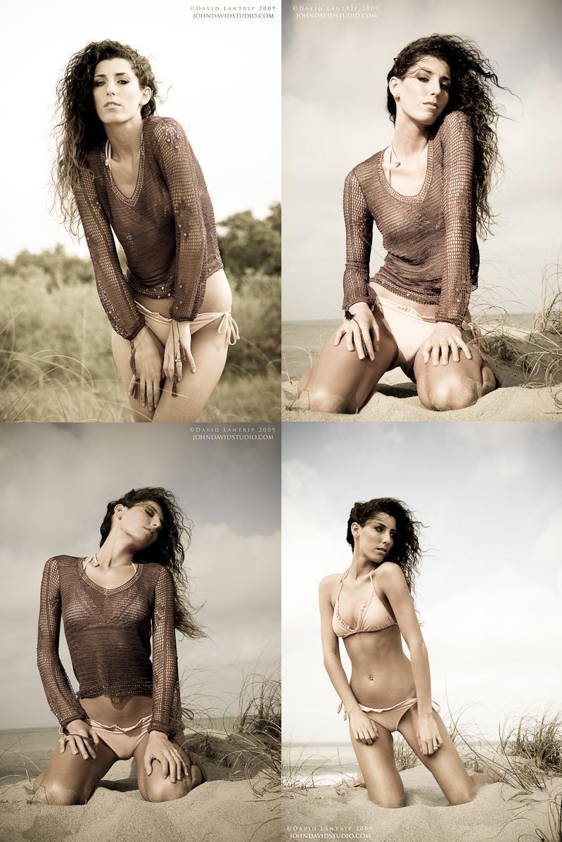Female model photo shoot of Melinda Williams by John David Studio  in Venice, makeup by Barbie Mercedes HMUA