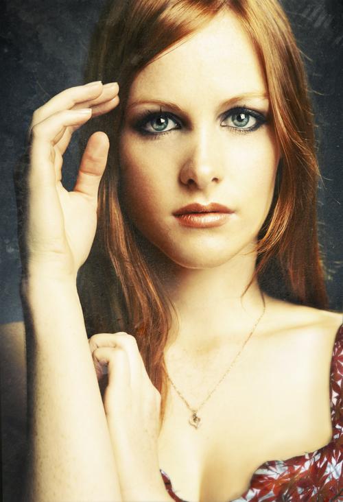 Female model photo shoot of Krystal Edebohls by Julia Kuzmenko McKim