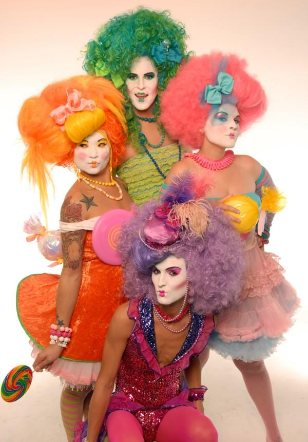 Cosmix Ft. Lauderdale, FL Apr 09, 2009 Makeup By Marcy Trannys in Candy Land #3
