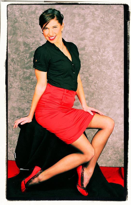 Female model photo shoot of Kinsie