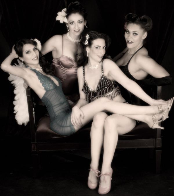 Apr 12, 2009 BH_Photography Burlesque girls having fun