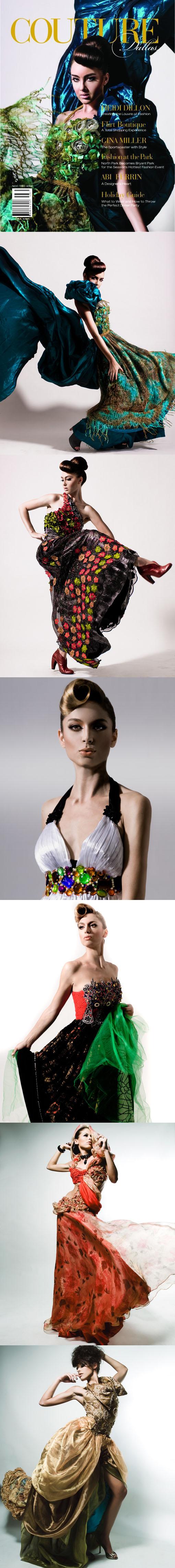 LA Apr 12, 2009 Client:  Couture Dallas magazine Photographer:  Mark Sacro