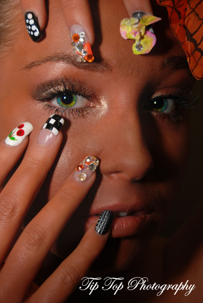 Apr 14, 2009 Tip Top Photography Nails, make-up by me