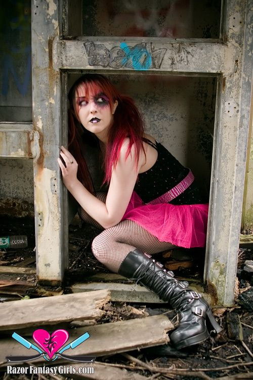 Female model photo shoot of Ella de Vil by Fernando L Pacheco in NY, makeup by Lex Elements