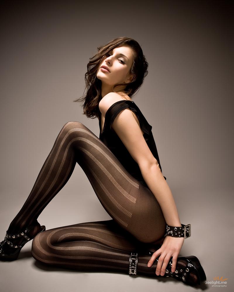 Female model photo shoot of Katya Zvantseva main by Vadim Z
