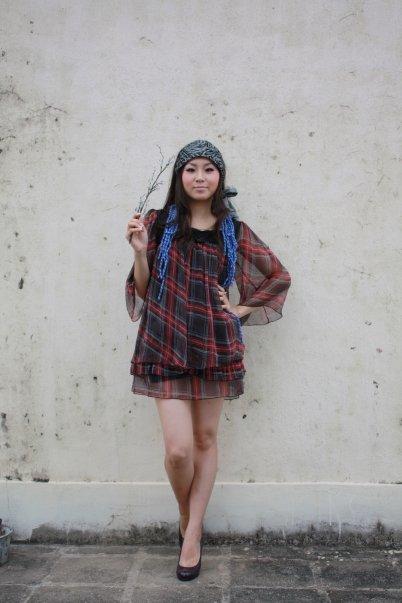 Female model photo shoot of yuki muk yan