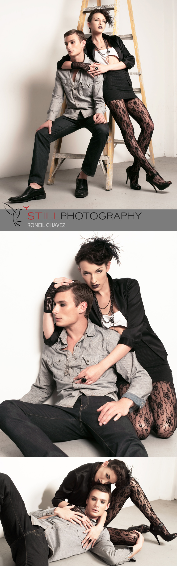 MS studio Apr 18, 2009 Roneil Chavez (Still Photography 2009) Blake and Marlow