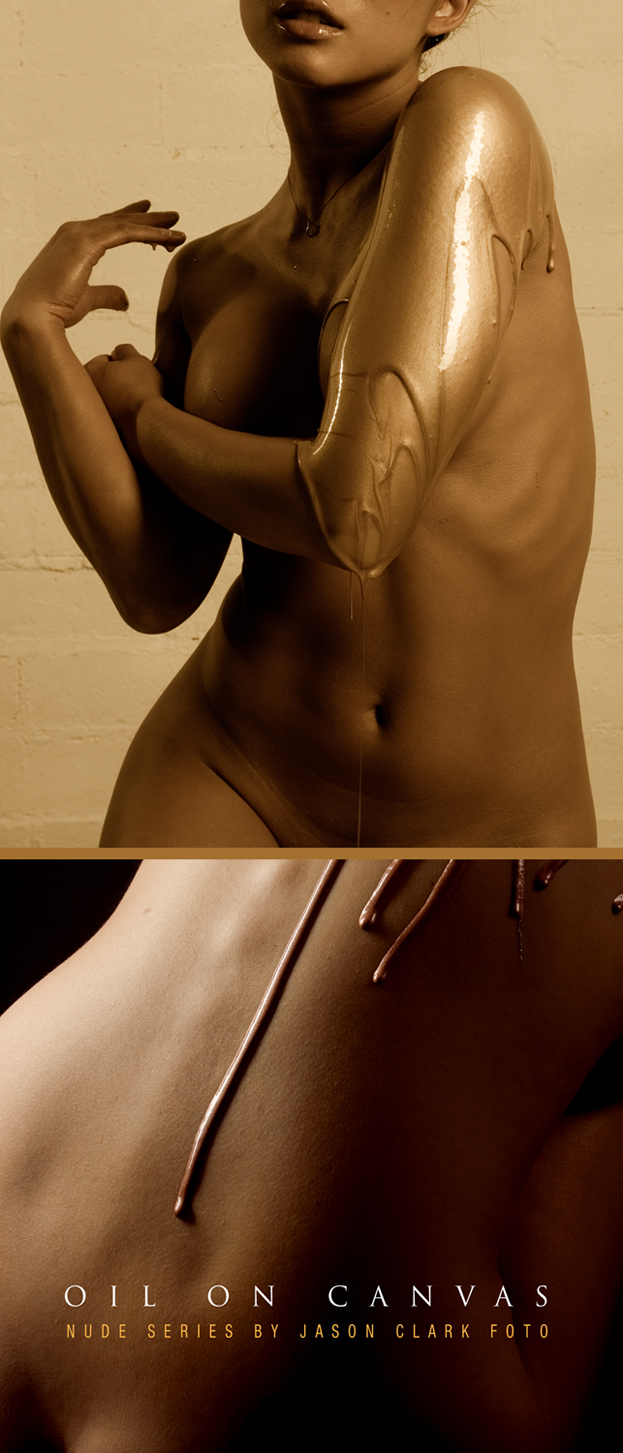 los angeles, CA Apr 18, 2009 ©jason clark: foto OIL ON CANVAS- nude series (shooting for 2 years)