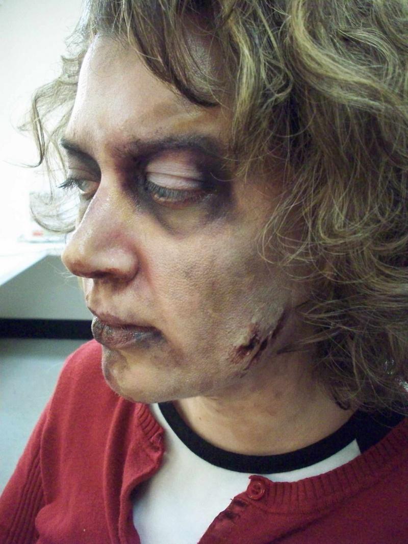 LA Apr 19, 2009 model: mary smith zombie mary