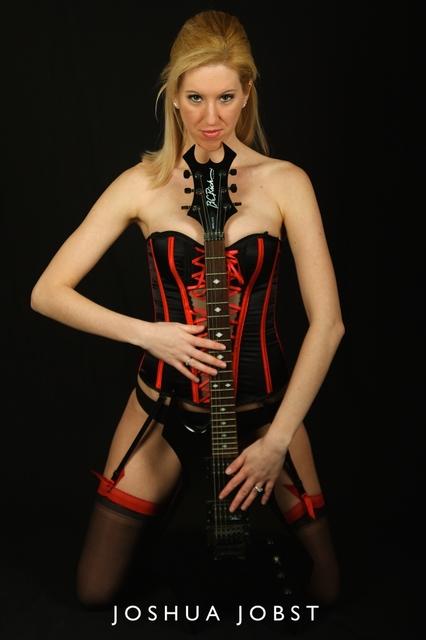 Female model photo shoot of CinZ by Longbeard