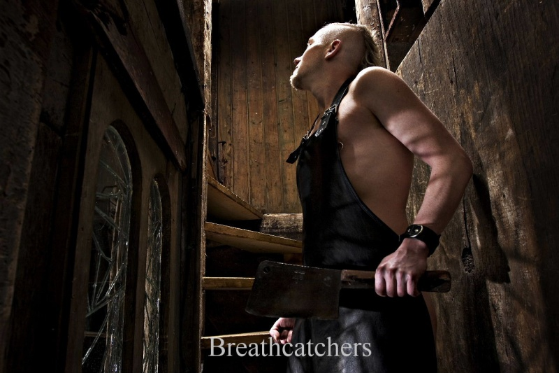 Male model photo shoot of Breathcatchers