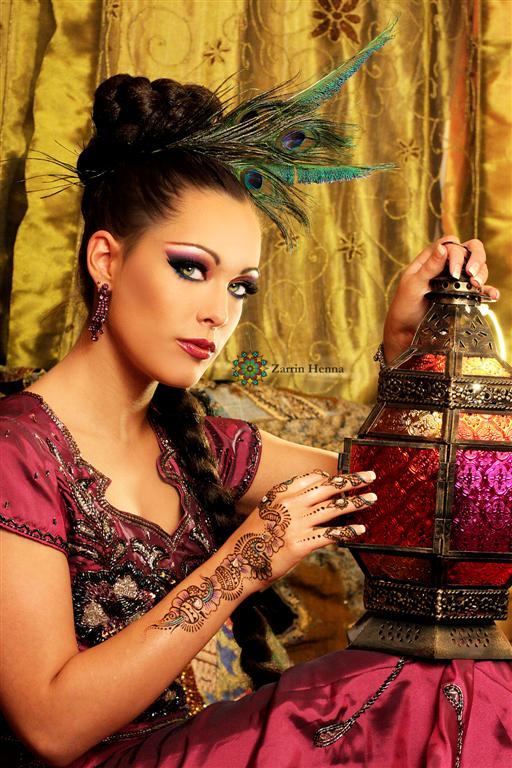 Female model photo shoot of Myth Photography and ReneeSM in Zarrin Henna Studio