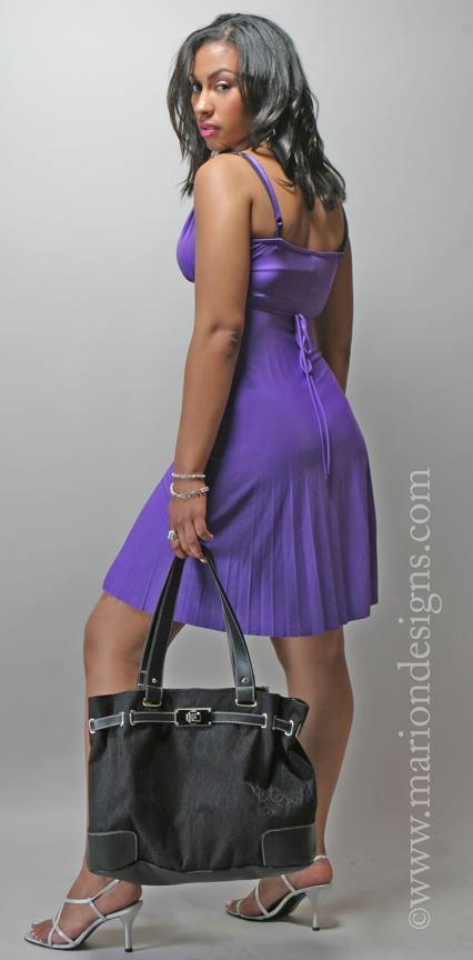 Atlanta, Ga Apr 21, 2009 www.mariondesigns.com Purple Dress Pic 2