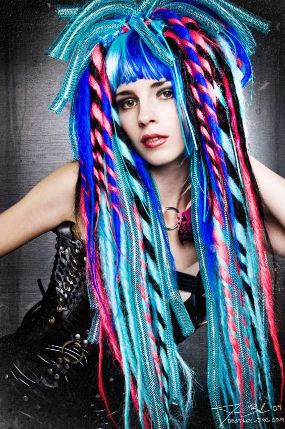 Los Angeles Apr 21, 2009 custom dread wig